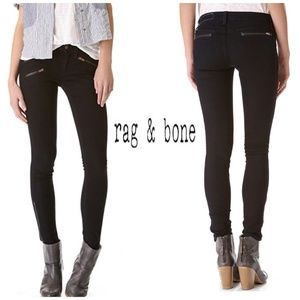Rag & Bone RBW 9 Zipper In Seal Pants